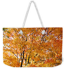 Weekender Tote Bag featuring the photograph The Golden Takeover by Robert Knight