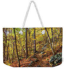 The Golden Trail Weekender Tote Bag