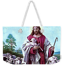 The Good Shepherd 1878 Bernhard Plockhorst Weekender Tote Bag