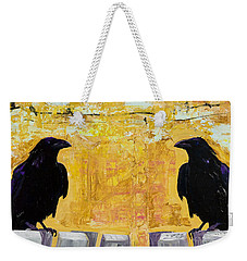 The Gossips Weekender Tote Bag