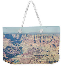 Weekender Tote Bag featuring the photograph The Grand Canyon by Margaret Pitcher