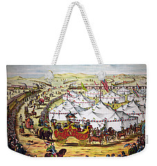 The Grand Layout, Chromolithograph 1874 Weekender Tote Bag