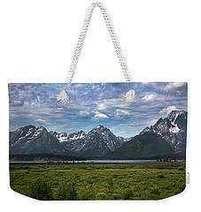 The Grand Tetons Weekender Tote Bag