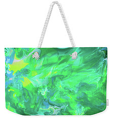 Northern Lights Weekender Tote Bag