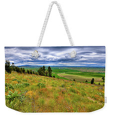 The Grasses Of Kamiak Butte Weekender Tote Bag