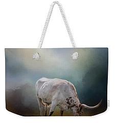 The Grazing Texas Longhorn Weekender Tote Bag