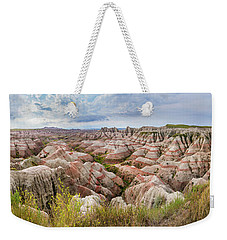 Deep And Wide Panorama Weekender Tote Bag