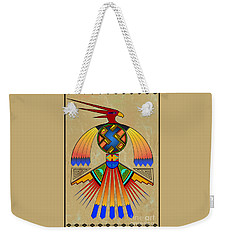 The Great Bird Spirit Weekender Tote Bag