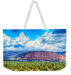 Weekender Tote Bag featuring the photograph The Great Divide by AJ Schibig