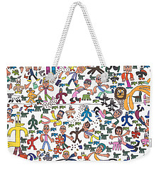 The Great Muppet Escape Weekender Tote Bag