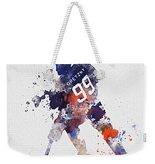 The Great One Weekender Tote Bag by Rebecca Jenkins
