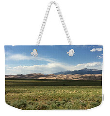 Weekender Tote Bag featuring the photograph The Great Sand Dunes by Christin Brodie
