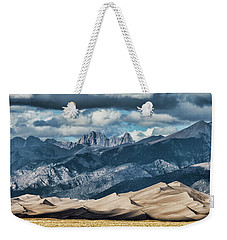The Great Sand Dunes Panorama Weekender Tote Bag