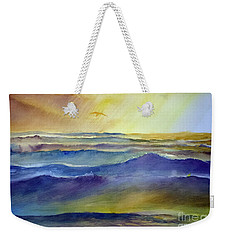 The Great Sea Weekender Tote Bag
