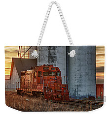 The Great Western Sugar Mill Longmont Colorado Weekender Tote Bag