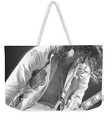 Weekender Tote Bag featuring the photograph The Greatest Slinger by Steven Macanka