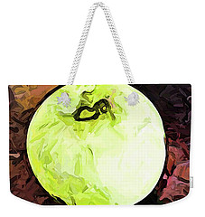 The Green Apple In The Bright Light Weekender Tote Bag