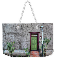 The Green Door Weekender Tote Bag