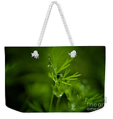 The Green Drop Weekender Tote Bag