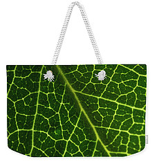 The Green Network Weekender Tote Bag by Ana V Ramirez