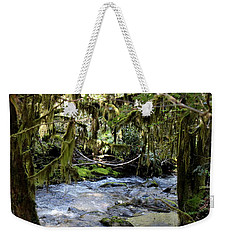 The Green Seen Weekender Tote Bag by Marie Neder