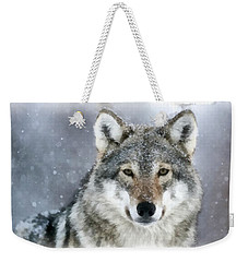 The Grey Wolf Weekender Tote Bag