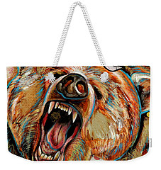 The Grizzly Bear Weekender Tote Bag