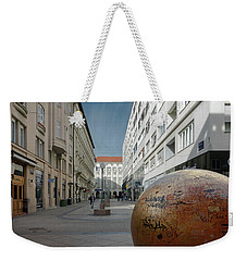 The Grounded Sun Zagreb Weekender Tote Bag by Steven Richman