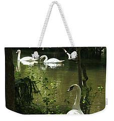 The Guard Swan Weekender Tote Bag