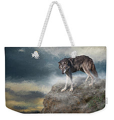 Weekender Tote Bag featuring the digital art The Guardian by Nicole Wilde