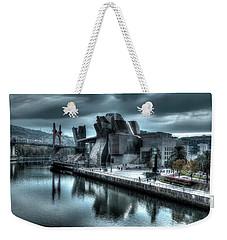 The Guggenheim Museum Bilbao Surreal Weekender Tote Bag