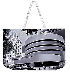 The Guggenheim Black And White Weekender Tote Bag