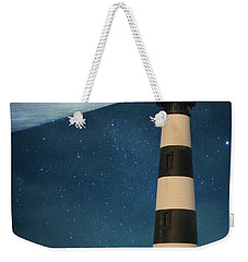 Weekender Tote Bag featuring the photograph The Guiding Light by Juli Scalzi