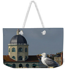 The Gull And The Dome Weekender Tote Bag by John Topman