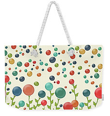 The Gumdrop Garden Weekender Tote Bag by Deborah Smith