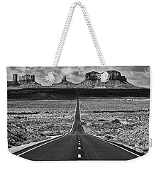 Weekender Tote Bag featuring the photograph The Gump Stops Here by Darren White