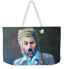 Weekender Tote Bag featuring the painting The Gunther by Diane Daigle