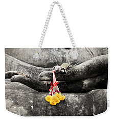 The Hand Of Buddha Weekender Tote Bag