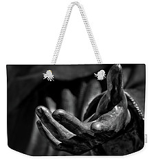 The Hand Of Saint Francis Weekender Tote Bag by Stuart Litoff