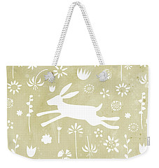 The Hare In The Meadow Weekender Tote Bag