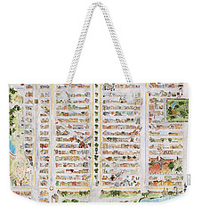 The Harlem Map Weekender Tote Bag