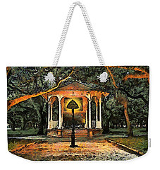 The Haunted Gazebo Weekender Tote Bag