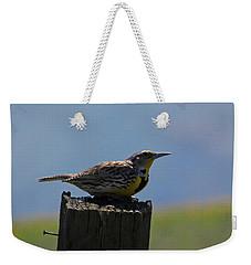 The Hawk Squat Weekender Tote Bag