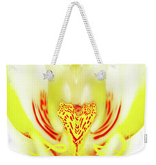 The Heart Of An Alien-orchid Weekender Tote Bag