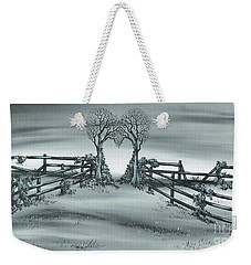 The Heart Of Everything Weekender Tote Bag by Kenneth Clarke