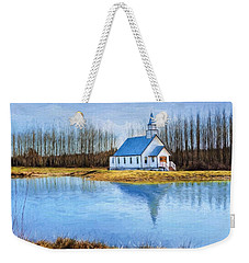The Heart Of It All - Landscape Art Weekender Tote Bag by Jordan Blackstone