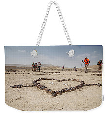 The Heart Of The Desert Weekender Tote Bag by Yoel Koskas