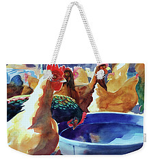 The Henhouse Watering Hole Weekender Tote Bag