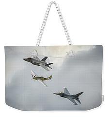 The Heritage Flight Weekender Tote Bag