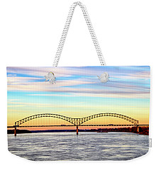 The Hernando De Soto Bridge Weekender Tote Bag